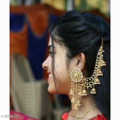 Pearl Studded Jhumkas
