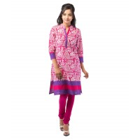 Pack of 3 - 100% Cotton Embroidered Kurti