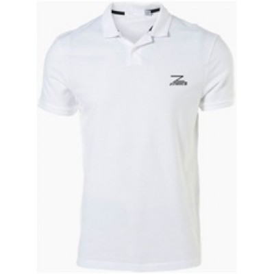 Zymour White Coller T-shirt