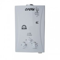 Opera LPG Gas Water White Geyser