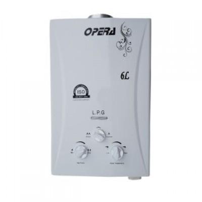 Opera LPG Gas Water White Geyser